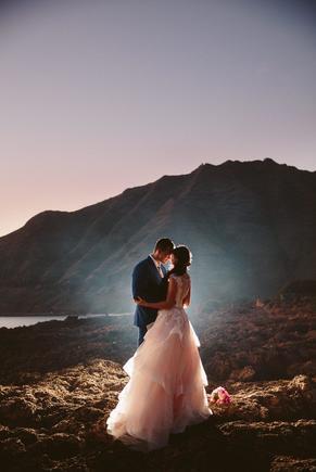 Oahu Hawaii Destination wedding photographer www.benandhopeweddings.com.au