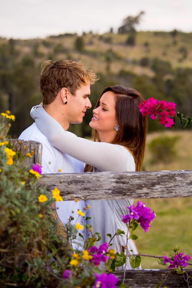 country farm engagement photography boonah www.benandhopeweddings.com.au