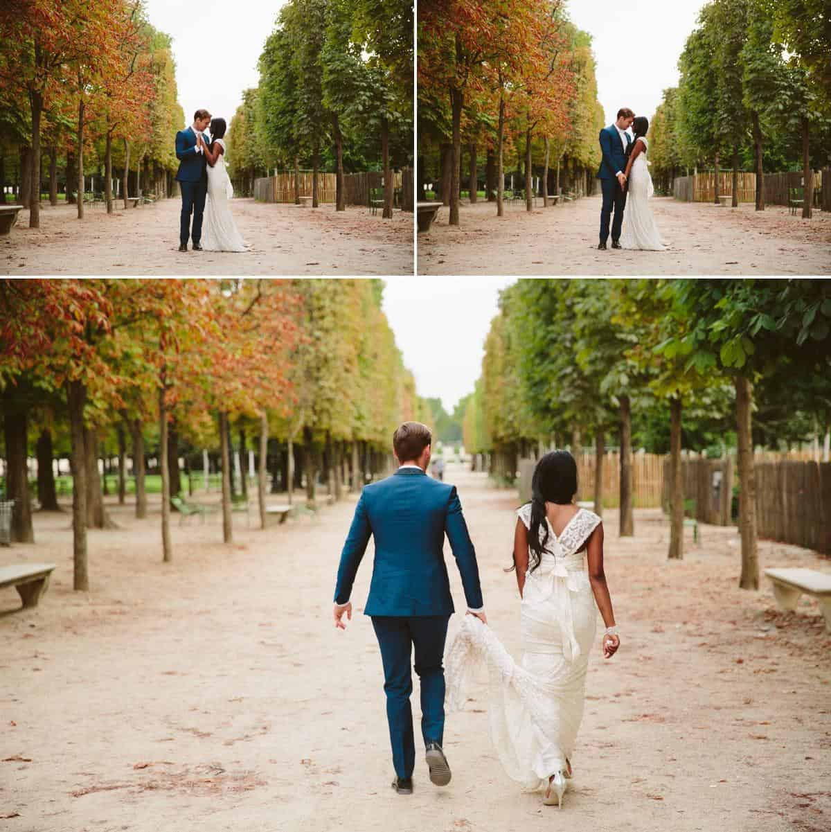 The Tulleries Paris Destination wedding photographer www.benandhopeweddings.com.au