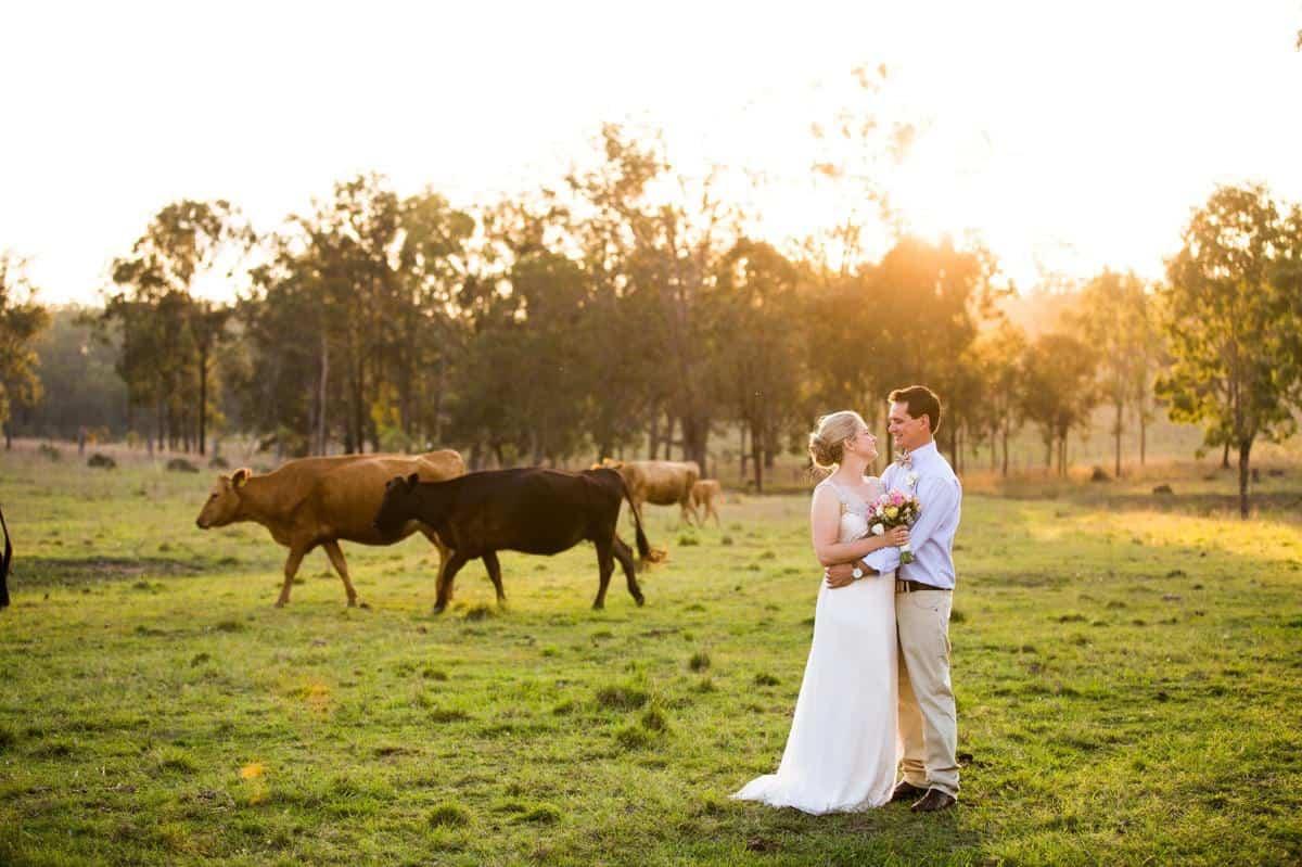 Spicers Hidden Vale Country Wedding Photographer Anna Campbell Dress Ben & Hope Photography www.benandhopeweddings.com.au