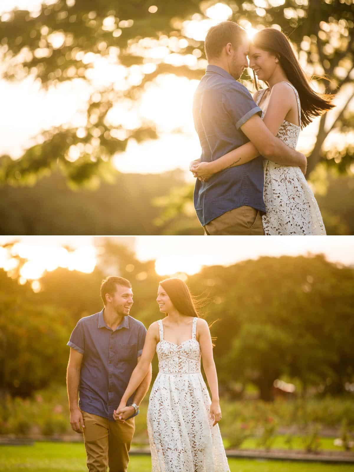 New Farm Park engagement photography www.benandhopeweddings.com.au