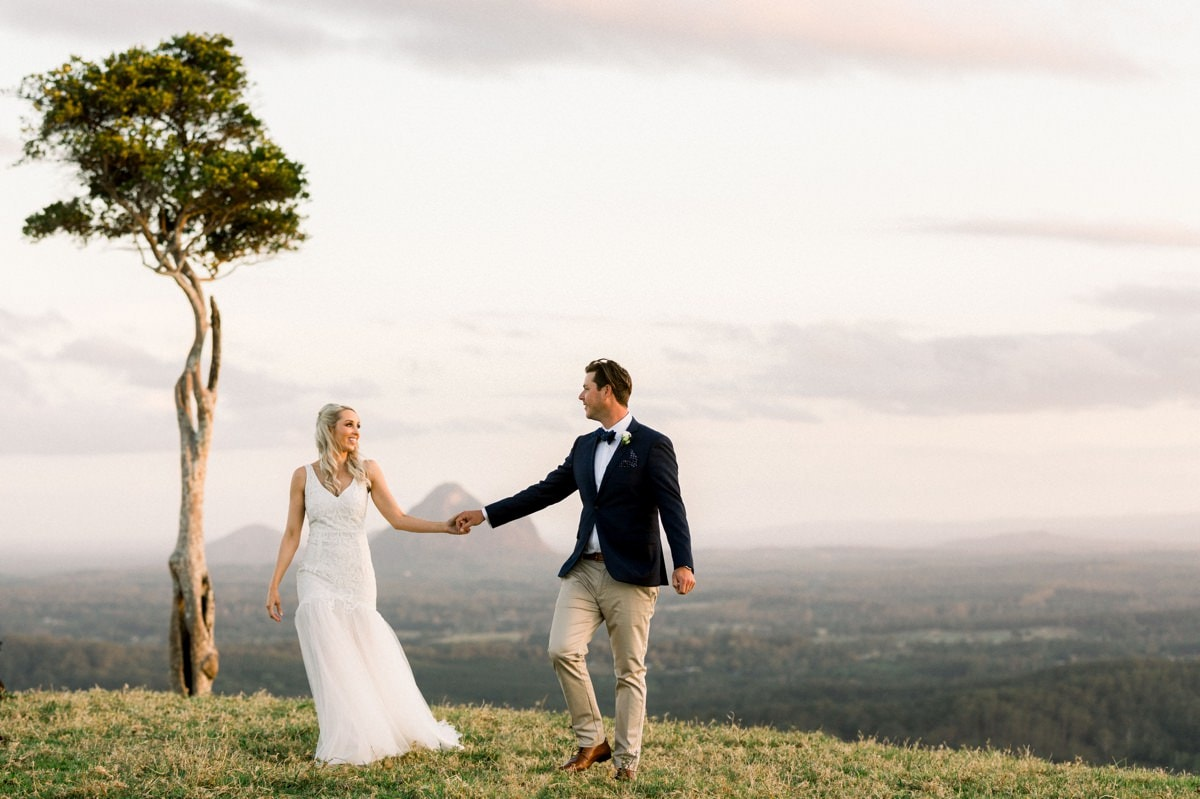 Maleny Manor Wedding photographer sunshine coast bridal portraits one tree hill when freddie met lily wedding dress