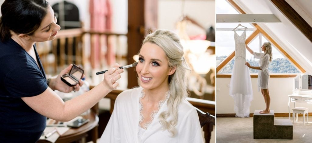 Maleny Manor Wedding photographer sunshine coast bridal prep details lace dress when freddie met lily dress