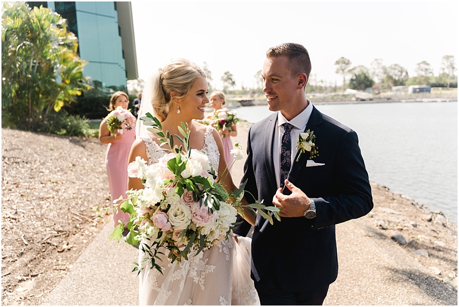 Best Gold Coast Wedding Photographer - The Intercontinental Sanctuary Cove - Tegan and Dylan