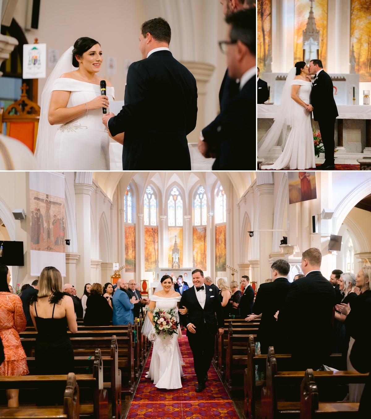 St. Patrick's cathedral toowoomba wedding www.benandhopeweddings.com.au